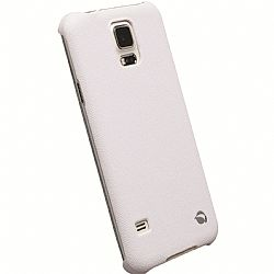Krusell 89960 Malmo TextureCover for Samsung Galaxy S5 - White