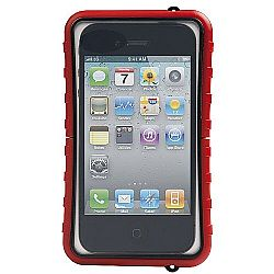 Krusell SEaLABox Universal Waterproof Case for iPhone 4/4S and other Smartphones - Red