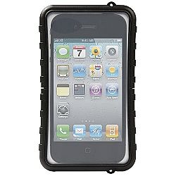 Krusell SEaLABox Universal Waterproof Case for iPhone 4/4S and other Smartphones - Black