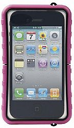 Krusell SEaLABox Universal  Waterproof Case for iPhone 4/4S and other Smartphones - Pink