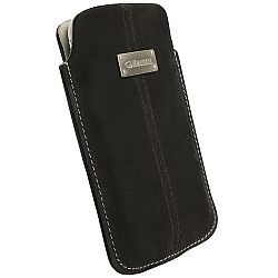 Krusell Luna XXL Mobile Pouch for Samsung Galaxy S II and other Smartphones (Black Nubuck)