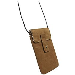 Krusell 95362 Tumba Stylish Leather Pouch for iPhone 5, HTC One, Samsung Galaxy S4, Blackberry Z10 and more - Brown