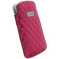 Krusell 95372 Avenyn Mobile Pouch XXL for Samsung Galaxy S II, Xperia Arc S and other Mobile Phones  � Cerise/Pink OPEN BOX