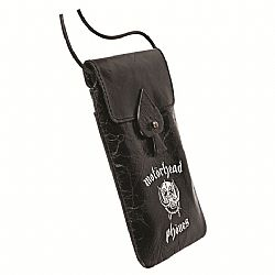 Motorheadphones 95380 Capricorn Leather Mobile Case - Black/White