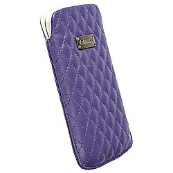 Krusell 95382 Avenyn 3XL Mobile Pocket Pouch for SmartPhones with 4.3 / 5.0 inch Screen - Purple