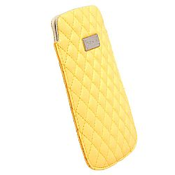 Krusell 95383 Avenyn 3XL Mobile Pocket Pouch for SmartPhones with 4.3 / 5.0 Inch Screen - Yellow