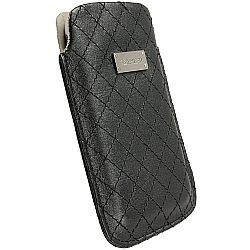 Krusell 95389 Avenyn Mobile Pouch L Long for NEW iPhone 5/5c/5s - Black