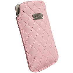 Krusell 95391 Avenyn Mobile Pouch L Long for NEW iPhone 5/5c/5s - Pink
