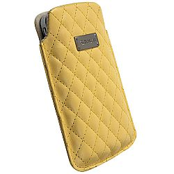 Krusell 95394 Avenyn Mobile Pouch L Long for NEW iPhone 5/5c/5s - Yellow