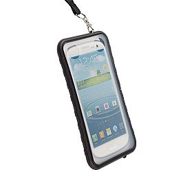 Krusell 95401 SEaLABox 3XL Waterproof Mobile Case for Samsung Galaxy S3, HTC One X, Motorola Droid RAZR MAXX and Other Smartphones - Black