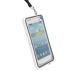 Krusell 95402 SEaLABox 3XL Waterproof Mobile Case for iPhone 6, Samsung Galaxy S5, Galaxy S4 and Other Smartphones - White