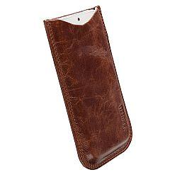 Krusell 95411 Tumba Stylish Leather Pocket Pouch L Long for NEW iPhone 5/5c/5s - Vintage Brown