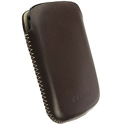 Krusell 95514 DONSO Large Mobile Leather Pouch - Brown