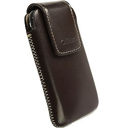Krusell 95520 Vinga Large Leather Pouch - Brown