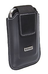 Krusell 95702 for Blackberry 9900/9930/Q10 Apollo Large Multidapt Leather Universal Case with Ratchet Swivelkit - Black