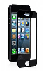 Moshi iVisor XT Crystal Clear Screen Protector for iPhone 5 - Black/Clear