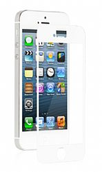 Moshi iVisor XT Crystal Clear Screen Protector for iPhone 5 - White/Clear