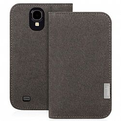 Moshi Overture Wallet Case for Samsung Galaxy S4 - Gray