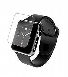 InvisibleShield Glass-Apple Watch (42mm)-Luxe Full Screen-Black
