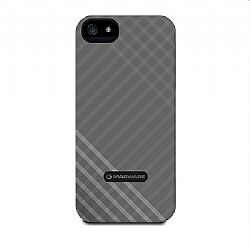 Marware MicroShell Case for New iPhone 5 (Silver Stripes)