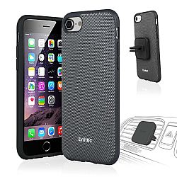 Evutec Nylon Case w/Vent Mount for iPhone 7 in Grey