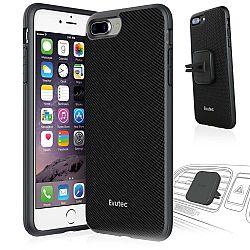 Evutec Nylon Case w/Vent Mount for iPhone 7+ in Black