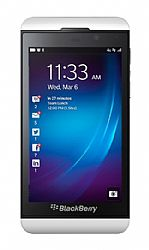 BlackBerry Z10 (3G 850MHz AT&T) Smartphone White Unlocked Import