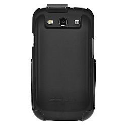 Seidio Surface Extended Combo for Samsung Galaxy S III (for use with 3500mAh battery) - Black