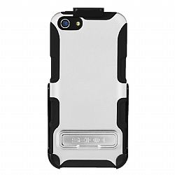 Seidio Active Case / Holster Combo with Kickstand for The New iPhone 5 (Gloss White)