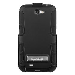 Seidio ACTIVE with Metal Kickstand Case / Holster Combo for Samsung Galaxy Note 2 II - Black