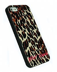Betsey Johnson Fashion Case for iPhone 5 - Cheetah Punk
