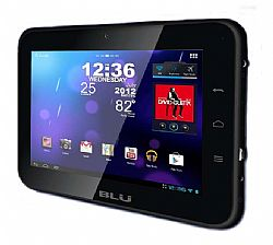 BLU TouchBook Plus Light 7 inches Android Tablet WiFi Black OPEN BOX