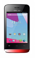 BLU Neo JR S370 Red Dual Sim (3G 850MHz AT&T) Unlocked Import