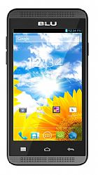 BLU Dash Music 4 (3G 850MHz AT&T) Dual-SIM Black Unlocked Import