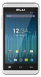 BLU Dash Music 4 (3G 850MHz AT&T) Dual-SIM White Unlocked Import