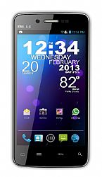 BLU Quattro 4.5 HD 450X Android Smartphone (3G 850MHz AT&T /1700MHz T-Mobile) Black Unlocked Import