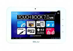 BLU TouchBook Plus Light 7 inches Android Tablet WiFi White