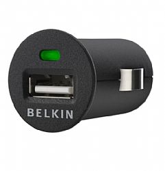 Belkin 1A Universal Vehicle Power Adapter - Black