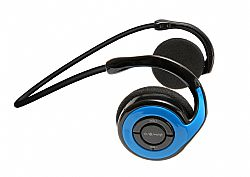 Jarv Joggerz BT-301  Sports Bluetooth Headphones with Built-In Microphone, Blue