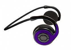 Jarv Joggerz BT-301  Sports Bluetooth Headphones with Built-In Microphone, Purple
