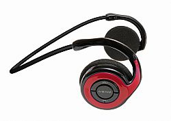 Jarv Joggerz BT-301  Sports Bluetooth Headphones with Built-In Microphone, Red