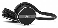 Jarv Joggerz PRO Sports Bluetooth 4.1 Headphones with Built-In Microphone , Foldable Design and Universal Fit- 20 hours of Talk Time,  Black/Grey