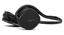 Jarv Joggerz PRO Sports Bluetooth 4.1 Headphones with Built-In Microphone , Foldable Design and Universal Fit- 20 hours of Talk Time, Black/Black OPEN BOX