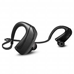Jarv Pure Fit Version 2 Sport Wireless Bluetooth Earbuds - Sweatproof and Water Resistant, Ear Hook Design Bluetooth Headphones- Black