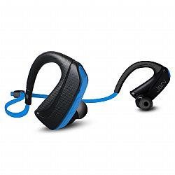 Jarv Pure Fit Version 2 Sport Wireless Bluetooth Earbuds - Sweatproof and Water Resistant, Ear Hook Design Bluetooth Headphones- Blue