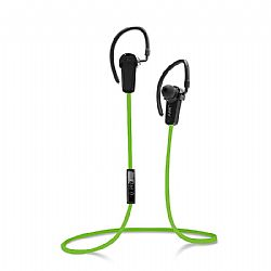 Jarv NMotion Sport Wireless Bluetooth 4.0 Stereo Earbuds/Headphones with In-Line Microphone  , Green OPEN BOX