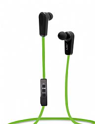 Jarv NMotion Sport Wireless Bluetooth 4.0 Stereo Earbuds/Headphones with In-Line Microphone  , Green