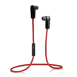 Jarv NMotion Sport Wireless Bluetooth Stereo Earbuds/Headphones with Built in Microphone , Red