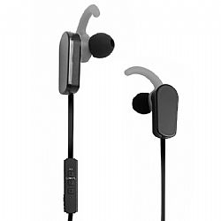 Jarv NMotion PLUS Sport Wireless Bluetooth 4.0 Stereo Earbuds with Built in Microphone, Black