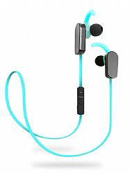 Jarv NMotion PLUS Sport Wireless Bluetooth 4.0 Stereo Earbuds with Built in Microphone, Blue
